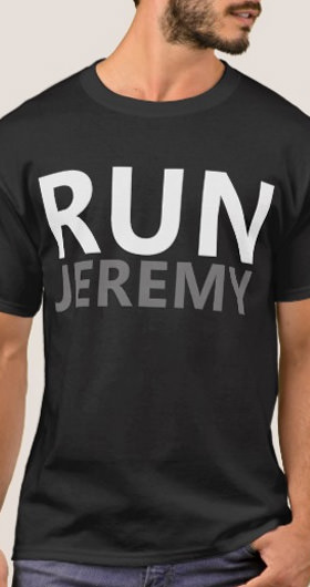 Run Jeremy Men's Shirt