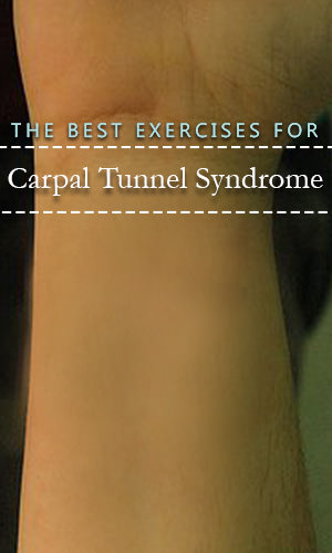 Millions each year are affected by Carpal Tunnel Syndrome, and there is a barrage of recommendations from the medical community on how best to tackle it, from wrist braces and night splints to pain killers and surgery. Before you drop a whole bunch of money on try these simple exercises that you can do at home.