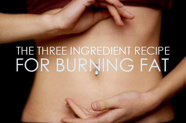 The Three Ingredient Recipe For Burning Fat
