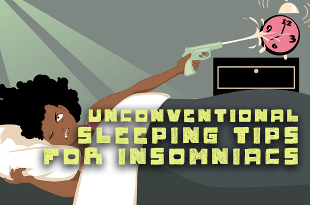 Unconventional Sleeping Tips For Insomniacs