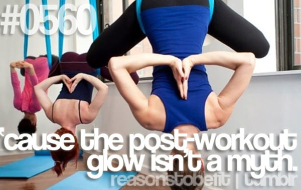 10 Reasons Why Being Fit Feels Good #4: Because the post-workout-glow isn't a myth.