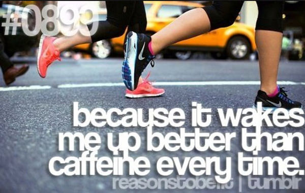 20 Reasons Why You Should Hit The Gym Today #14: Because it wakes me up better than caffeine every time.