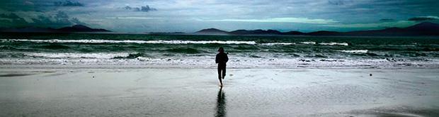 Running On A Beach