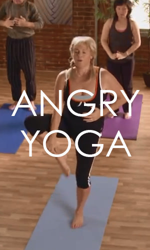 The best way to diffuse stress may be to release it. Watch this hilarious video on Angry Yoga and let us know if it is right for you.