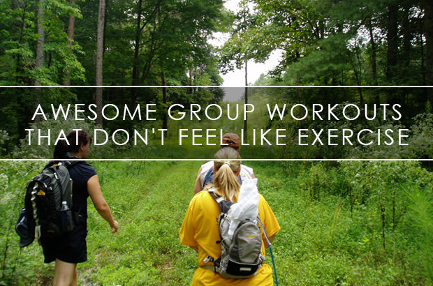 Awesome Group Workouts That Don't Feel Like Exercise