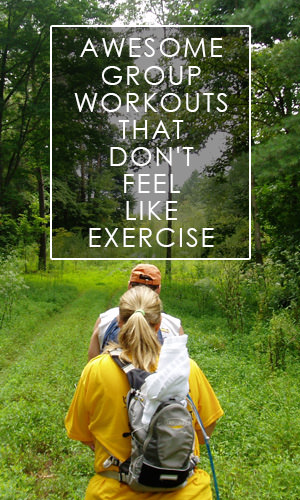 People who work out with a partner are generally more motivated to exercise than those who go it alone. Here are some really fun activities that will give you a good workout without it feeling like exercise.