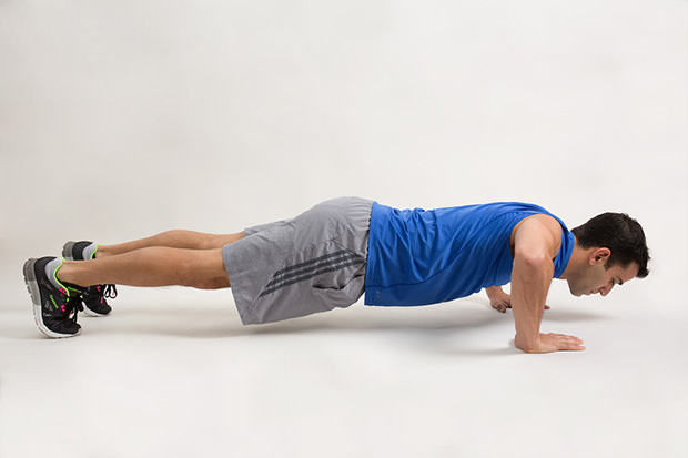 how to make your arms stronger for push ups