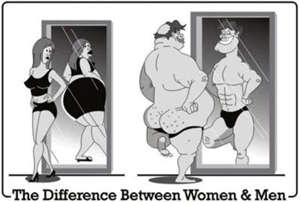 Laugh Your Abs Off With These Fitness Posters #13: The Difference Between Women and Men