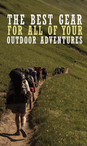 While some of the best experiences out in nature are those sans equipment -- just you and the great outdoors -- seasoned adventurers know that sometimes Mother Nature throws a wrench in your plans. Whether you intend to hike the Rockies, camp along the beach, backpack on the PCT, here are the best gear to help you do it.