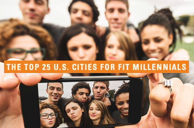 The Top 25 U.S. Cities For Fit Millennials