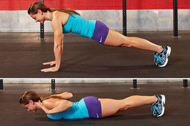 Hand-Release Push-Ups