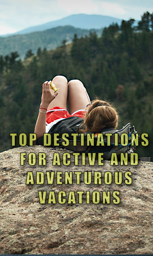 An adventurous vacation doesn't always mean an expensive on. In fact, adventure travel at its core is incredibly economical. In this article, we'll show you some of the top destinations for active travelers seeking active and adventurous vacations.