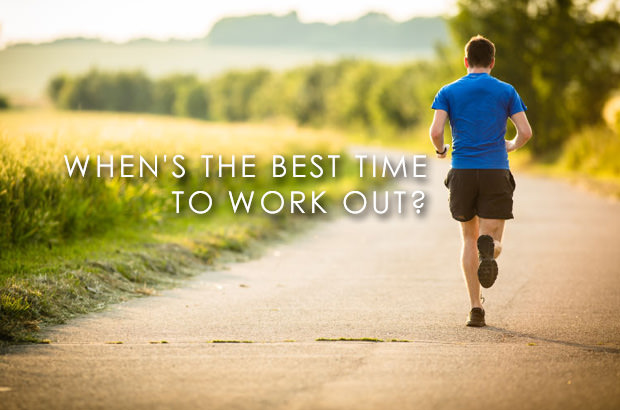 When is the Best Time to Work Out