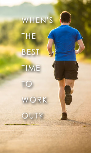 Finding the perfect time to exercise is as much about personal preference as it is physiology. This article goes into finding out what time of day is best for you for a work out.