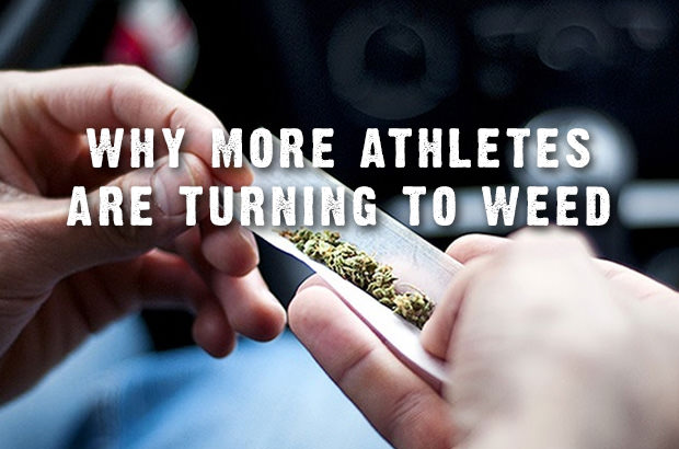 Why More Athletes Are Turning to Weed