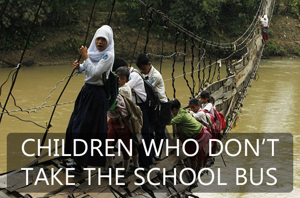 Children Who Do Not Take The School Bus