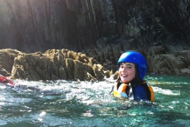 Go coasteering