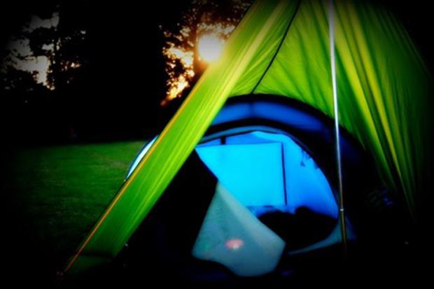 Off-peak camping