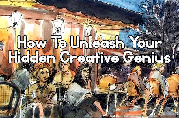 How to unleash your hidden creative genius