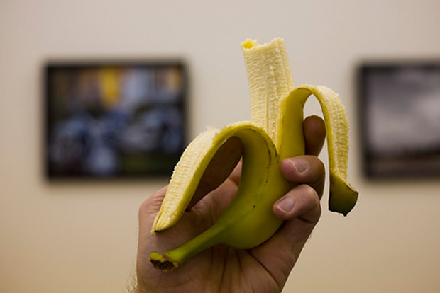 Flip that banana upside down