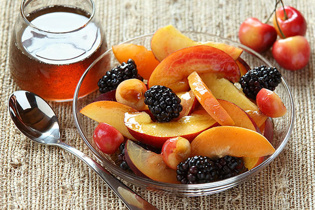 Save cut fruit from browning