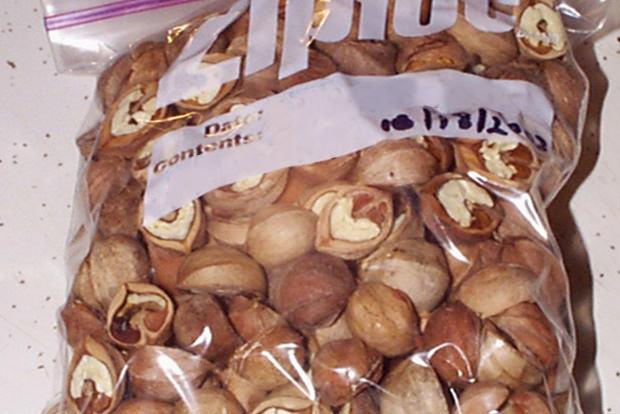 Extend nuts' shelf life