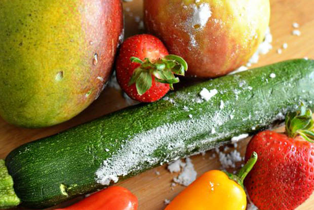 Clean fruit and veggies without harsh chemicals