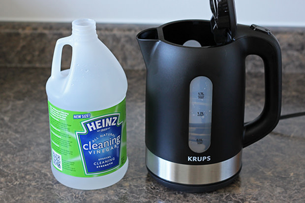 Make an electric kettle glimmer