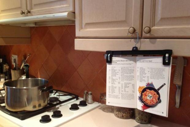 Keep recipes clean