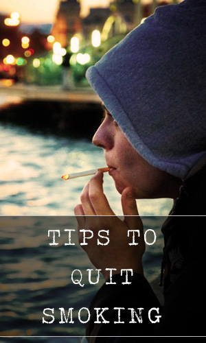 If you want to stop smoking, you can make small changes to your lifestyle that may help you resist the temptation to light up. Here are some of the best tips to help you succeed in this endeavor.