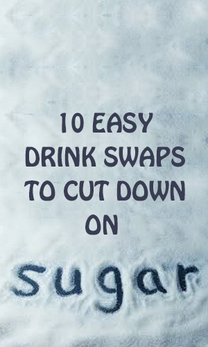 One of the most ubiquitous sources of added sugar is what you sip. A single beverage can easily pack more sugar than a typical serving of candy, cookies or ice cream and exceed the AHA's daily advised limit. To cut back put these 10 simple swaps into action.
