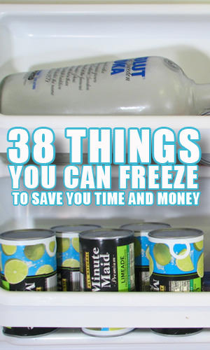 The freezer is a gift! It is the simplest device for preserving food and can be your ally in keeping fresh things fresh and alleviating waste. And despite popular belief, freezing does not lead to a decrease in nutrients. Here are the top 40 things you can freeze to save time and money.