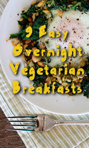 It's not often that anyone has an hour in the morning to spend whipping up a great big balanced breakfast. But a nutritious meal is possible even when time is a rare commodity. These recipes are designed to be prepared at night so they're ready to go in the morning.