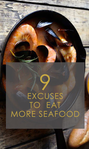 Low in total calories and unhealthy saturated fat, seafood may be one of the premier foods to maximize your health. So if you're wondering what to eat for dinner, why not go with seafood? Here are nine compelling reasons why you should.