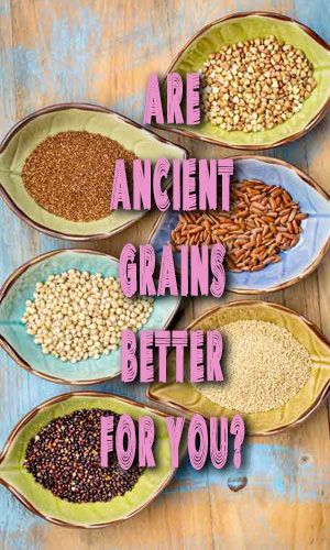 A growing number of people pushing their grocery carts past modern wheat breads, cereals and crackers and loading up on products made with ancient grains.But what exactly are ancient grains, and are they as good for you as people say? This article takes a deeper look into this.
