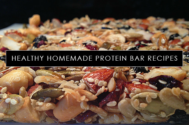 Healthy Homemade Protein Bar Recipes