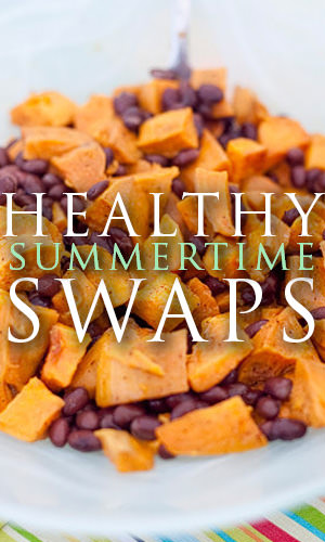 Summer is the time for backyard barbeques and pool parties, but could these events be ruining your diet? Here's some easy and tasty swaps to help keep you feeling great all summer long!