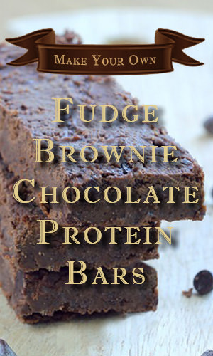 Quash mid-afternoon hunger with these bars that pack seven grams of protein per serving. Blend black beans, cocoa powder, protein powder and chocolate chips in a food processer, bake and then refrigerate overnight. Here's the recipe and instructions to make it.