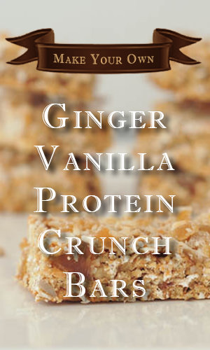 Made with crystallized ginger, coconut, vanilla, and almonds, there's plenty of flavor in these dairy- and gluten-free bars. And you don't need a food processor to make these extra-hearty snacks. Here's the recipe and instructions to make it.