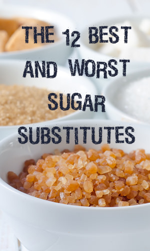 Sugar substitutes, a controversial topic, fall into one of two categories: natural sweeteners (which include sugar alcohols like erythritol) and nonnutritive sweeteners like sucralose (aka Splenda). We took a deep look into the 12 sugar substitutes that are most likely to show up in your pantry and loosely ordered them from best to worst.