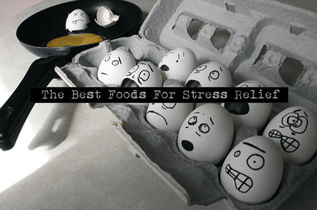 The Best Foods For Stress Relief