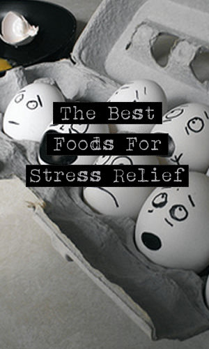 Even though eating comfort food when you're stressed gives you a sense of calm, it's a quick fix that wears off way too fast. To effectively combat stress levels, here is a list of food you should be reaching for.