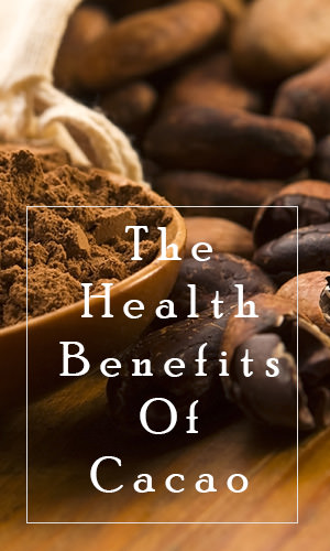 "Cacao falls into the superfood category for its wealth of antioxidants and essential vitamins and minerals. Read on to discover the health benefits that come with consuming what the Incas refer to as ""The drink of the gods."""