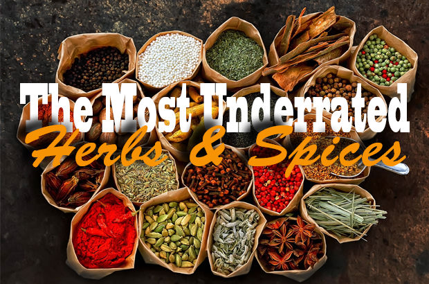 The Most Underrated Herbs And Spices