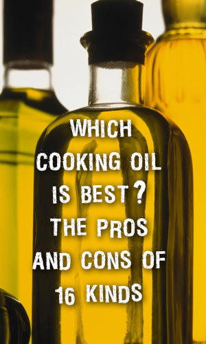 When choosing a cooking fat or oil, it's important to consider how the oil holds up to temperature. You also need to consider the overall healthfulness of the oil's nutrition profile. Read on to learn more about 16 types of cooking oils and their recommended uses.