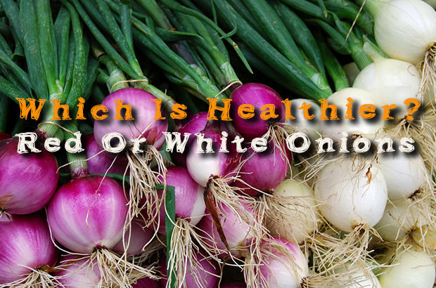 Which Is Healthier. Red Or White Onions