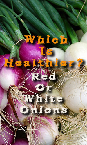 Between the red onion and the white, one contains more health benefits than the other. Which one is it? It is time to know your onions.