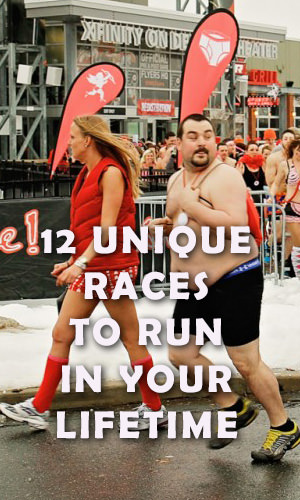 From famed locales to events that will impress even the most finicky foodie, there's truly something for everyone. Read on to see 12 unique races to run in your lifetime and get tips to start planning and training for your next adventure!