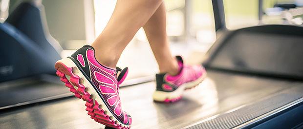running form treadmill