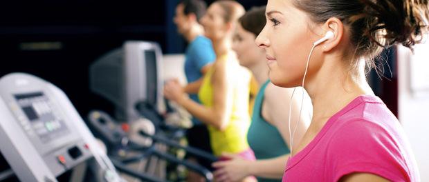 music treadmill